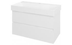 Allaskaappi Interia Filena, 820x515x430mm, valkoinen