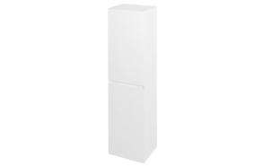 Korkea kaappi Interia Filena, 350x1400x300mm, valkoinen