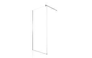 suihkuseinä Interia Lilly RSW-LIL-80, 80x190 cm, kirkas lasi