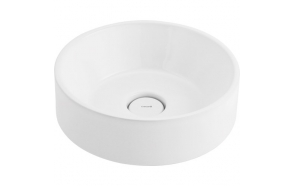 Pesuallas Creavit, pöytätasolle, valkoinen, 450 X 450 X 130 mm