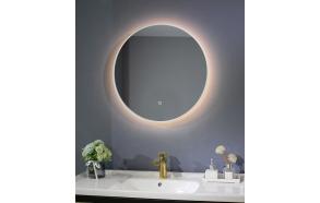 LED peili Interia Cherry diam 60 cm, matta valkoinen