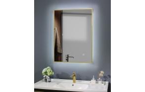 LED peili Interia Cherry diam 60x80 cm,matta kulta, kääntyvä