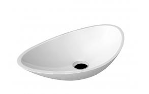 Malja-allas Interia Rosseta, 560x320x173mm, valkoinen