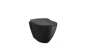 Seinä WC-istuin Creavit TP325, matta musta