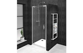 Kääntyvä suihkuovi INTERIA SIGMA SIMPLY 880-920 mm, kirkas lasi