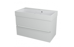 allaskaappi Interia Largo 89x50x45 cm, valkoinen