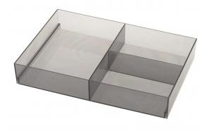 Lokerikko 202x50x302 mm, Smoke Grey