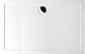 suihkukulman allas Interia 71565-SET, oikea, kivimassa, 100x70cm, valkoinen (71565 + 71592 + AWG07 + 1711C)