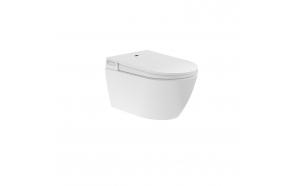 pesevä WC-istuin Interia Cherry No Rim, seinämalli, valkoinen