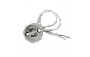 Keraaminen lampun pidikke GZ10, 230V