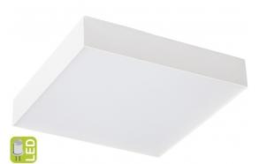 RISA LED kattovalo 10W, 230V, 28x28cm, valkoinen