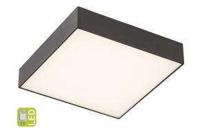 RISA LED kattovalo 10W, 230V, 28x28cm, black
