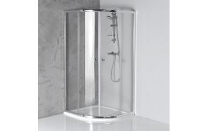 suihkunurkka Interia Arleta, 900x900, karkaistu turvalasi, kirkas