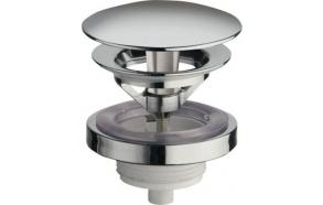 pohjaventtiili, ilman ylivuotoa, V 5-60 mm, kromi
