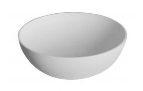 pesuallas Interia Thin WN185, komposiittikivi, 390 X 390 X 145 mm, matta valkoinen