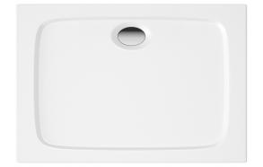 suihkukulman allas Interia S0013-SET, kivimassa, 110x70cm, valkoinen S0013+1711C+S0507+S0510