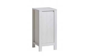 sivukaappi Interia Classic Andersen, 41x80x35 cm, valkoinen