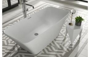kivimassa kylpyamme Interia Anglesey, 360 l, 1700 x 750 mm, mattavalkoinen