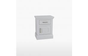 Yökaappi 1 laatikolla ja 1 ovella, joka avautuu oikealle