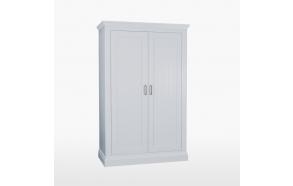 vaatekaappi 2 ovella