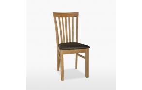 nahkapehmustettu tuoli Elizabeth