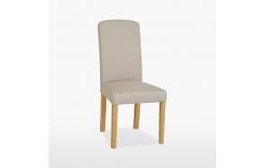 nahkapehmusteinen tuoli Tammi