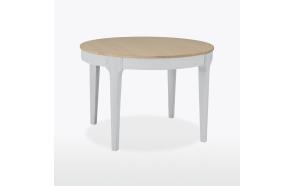jatkettava pyöreä ruokapöytä Mia