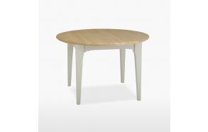 jatkettava pyöreä ruokapöytä New England, 110/150 cm