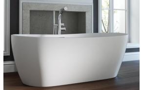 kivimassa kylpyamme Interia Hellisay II, 400 l, 1800 x 800 mm, mattavalkoinen