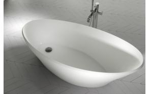 kivimassa kylpyamme Interia Cara, 230 l, 1700 x 750 mm, mattavalkoinen