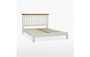 COELO King size -sänky matalalla jalkopäällä (160x200 cm)
