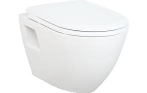 wc-istuin Creavit TP325, seinämalli, valkoinen