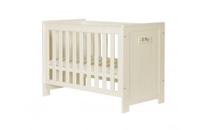 vauvansänky Barcelona, 120x60, sänkylaatikko ei kuulu hintaan, beige