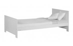 juniorisänky Blanco, 160x70, ilman sänkylaatikkoa, valkoinen
