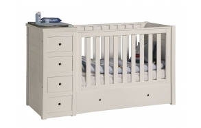 vauvansänky Paso Doble, 120x60, beige