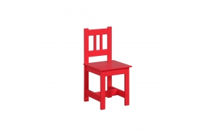"tuoli ""Junior"", punainen"