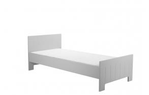 sänky Calmo 200x90 cm, sänkylaatikko ei kuulu hintaan, harmaa
