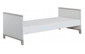sänky juunior, 160x70 , valkoinen+harmaa