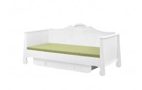 sänky, 200x90, valkoinen