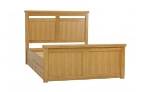 King size -sänky laatikolla (160x200 cm)