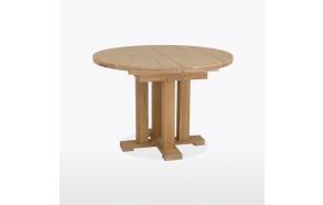 jatkettava pyöreä ruokapöytä Quercia 112/152 cm