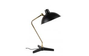 pöytälamppu Devi, musta