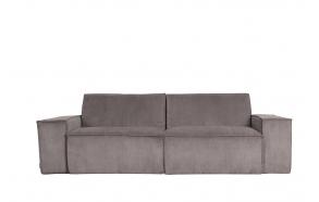 2-paikkainen sohva Rib Web, harmaa