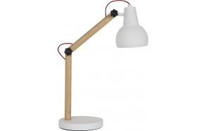 pöytälamppu Study, valkoinen