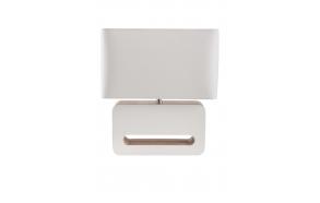 pöytälamppu Wood, valkoinen