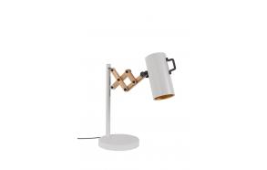 pöytälamppu Flex, valkoinen
