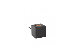 pöytälamppu Bolch, musta marmori