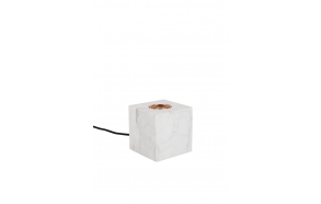 pöytälamppu Bolch, valkoinen marmori