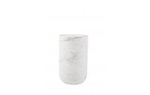 vaasi Fajen Marble, valkoinen