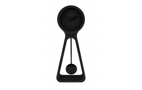pöytäkello Pendulum Time, musta